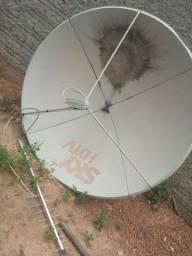 Título do anúncio: Vende-se antena parabólica sky completa