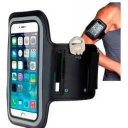 R$16,90 - Bracelete Porta Celular Universal Para Corrida De 4.7 Pol