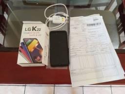 Telefone LG  k 22