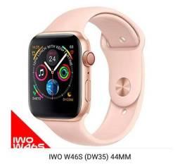 Relógio Inteligente SmartWatch W46s Rosê com garantia