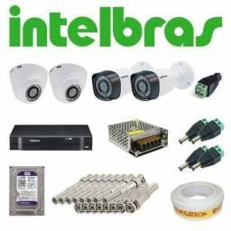 Título do anúncio: Kit câmera de segurança Intelbras