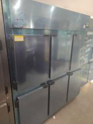 Geladeira comercial 6 portas inox *douglas
