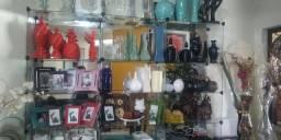 Vendo objetos de decoração