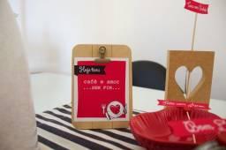 Kit digital para Café da Manhã Romântico