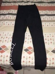 Calça legging preta/ colégio Borell
