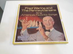 Coleção LP vinil Fred Waring and The Pennsylvanians antigo importado