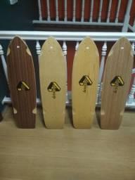 Shape de Skate Longboard - Simulador de Surf