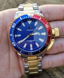Relógio masculino WWOR Prata