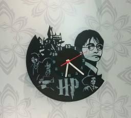 Relógio de parede, Harry Potter, em vinil