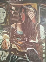 """"""" Mulher no Espelho"""" Di Cavalcanti baixou preço hoje!"""