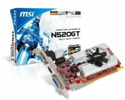 Placa de video N520GT