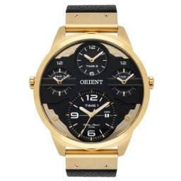 Relogio Masculino Orient Mgsct001 P2px Dourado