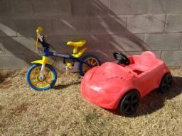 Kit velocidade (Bicicleta e Carrinho)