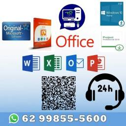 Pacote Office 2019 PRO Plus, Windows 10 Pro ou HOME