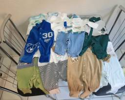 Título do anúncio: Lote de roupa bebê menino
