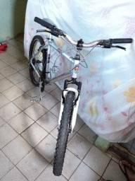 Título do anúncio: Bicicleta de alumínio para botar preço aro 26