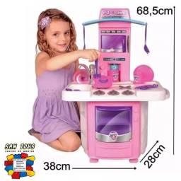 Título do anúncio: Big Cozinha infantil ( pode sair água da torneira