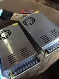 Fonte chaveada 50 amperes para som automotivo 14.6 volts LACRADA