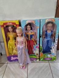 Coleção de Bonecas Stephany Princesas