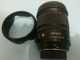 Lente sigma da Nikon d700