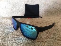 98dfd6418e0fb Oakley CrossRange Polarizado Espelhado Azul