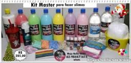Kit Master da Maju Bella Slime. para família toda brincar.