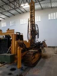 Máquina para estaca raiz e perfuração de poç