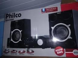 Vendo ou troco Mini System Philco 400W Bluetooth