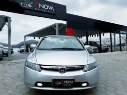 Civic EXS 1.8 flex completo automático + câmbio borboleta no volante top 2008 - 2008