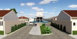 Casas de 1 e 2 dormitórios no Residencial Das Hortênsias em Cachoeirinha: Entrada parcela