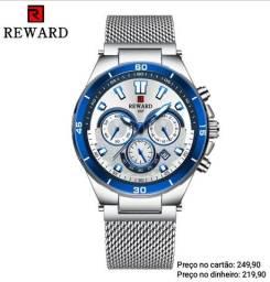 Relógio masculino original Reward luxo lindíssimo
