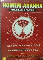Homem Aranha Coleção Box 6 Filmes 6 Dvds - Original Lacrado