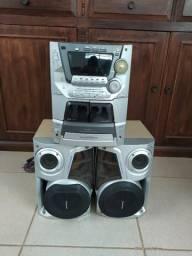 Aparelho De Som Panasonic Sa-ak52 Cd Stereo System