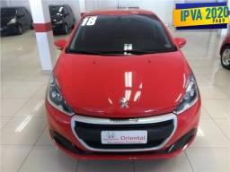 Peugeot 208 1.2 active 12v flex 4p manual - 2018