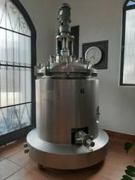 Reator em aço inox 160 litros