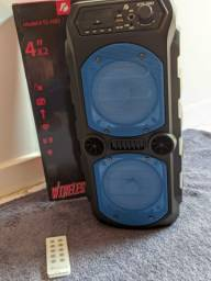 Caixa de som amplificada bluetooth PROMOÇÃO