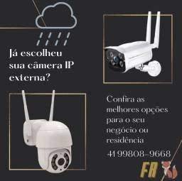 Câmeras de segurança externa HD a partir de 250