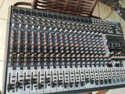 Mesa De Som Behringer Eurodesk Sx2442Sx Bi-Volt