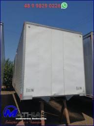 Furgão carga seca 8.50m Marca Ibipora usado Mathias implementos