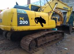 Escavadeira Komat'Su Pc200-8