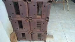 Vende-se estrutura box modelo Q-30 construída em aço carbono 1020 chapa 18