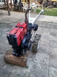 Micro Trator Motocultivador Diesel (Tipo Tobata ) 596 cilindrada