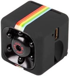 Mini camera espiã hd 1080 sensor de visão noturna, filma e bate foto