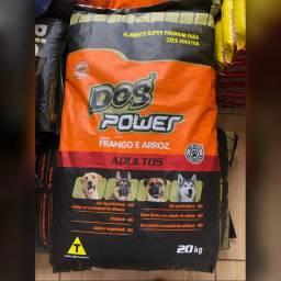 Ração Super Premium 20KG(Dog power)