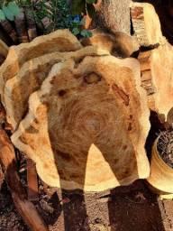 Título do anúncio: Bolachas de madeira rústica