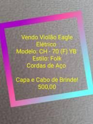 Violão Eagle Elétrico