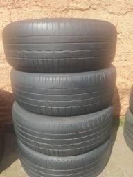 Título do anúncio: Jogo de pneus aro 16 meia vida
