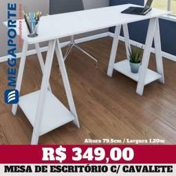 Título do anúncio: Mesa de Escritório Cavalete (Nova) Entrega Grátis