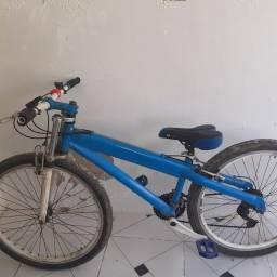 Título do anúncio: Bike aro 26 redusida de alumínio
