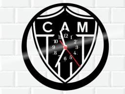 Relógio de parede, Atletico Mineiro, em vinil